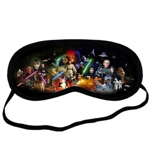 Custom Star Wars Sleeping Mask, Comfortable Soft Cotton Sleeping Aids Eye Mask Cover Travel & Work Rest