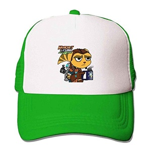 Ratchet & Clank All 4 One Game Clean Up Mesh Fitted Sun Hat