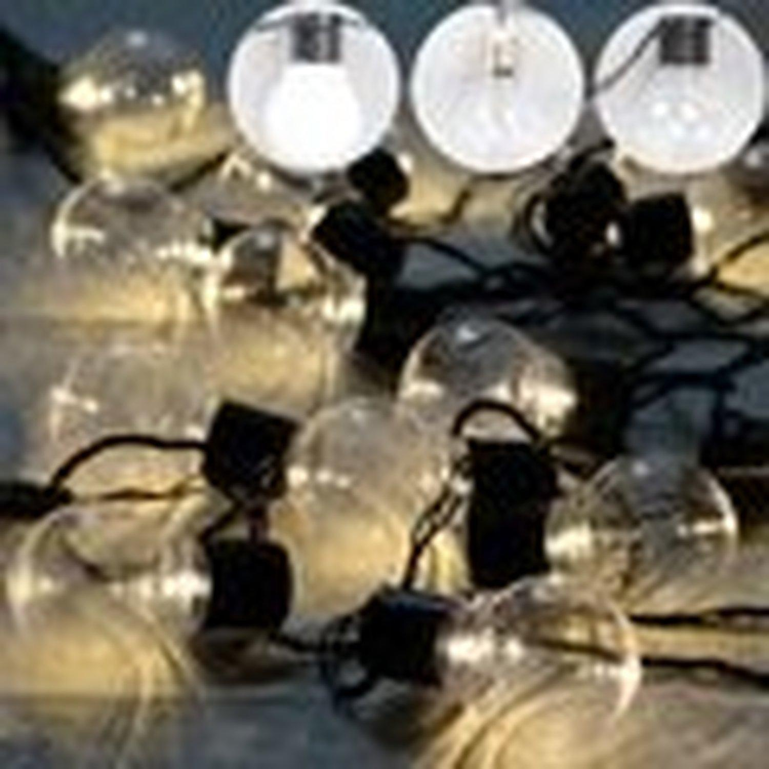 outdoor clear globe connectable festoon led party ball string fairy light led christmas lights fairy wedding