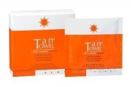 Tantowel Self-Tanning Towlettes, Full Body Application, 5 ct by Tan Towel