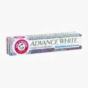 Arm & Hammer Advance Toothpaste Baking Soda Peroxide Tartar Control, White, 6 Ounce by Arm & Hammer