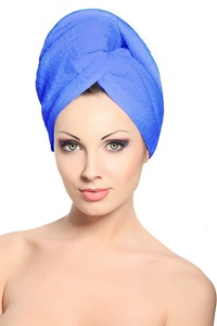 Heaven Women's Turbi Hair Wrap Blue