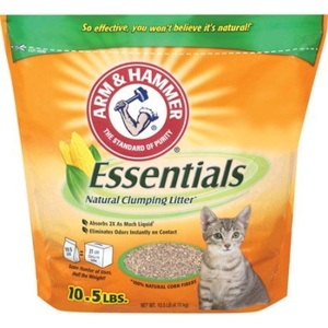 ESSENTIALS NATURALS CLUMPING CAT LITTER by ARM & HAMMER, 2104