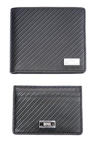 Hugo Boss Wallet 8CC S Card in Black