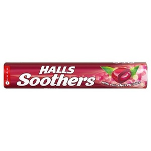 Halls Soothers Lozenges Cherry, 45g by HALLS