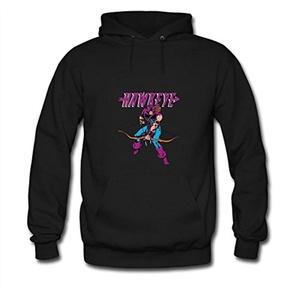 Hawkeye Retro For men Printed Sweatshirt Pullover Hoody