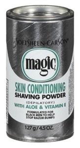 Magic Platinum Shaving Powder 4.5oz. Skin Conditioning (2 Pack) by Magic