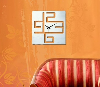 WYMBS Gifts home decor DIY spell wall sticker clock Wall stickers wall clock mute stereo wall clock DIY acrylic mirror wall stickers wall clock