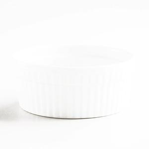 White 9.5-oz. Ramekin 9.5- oz each