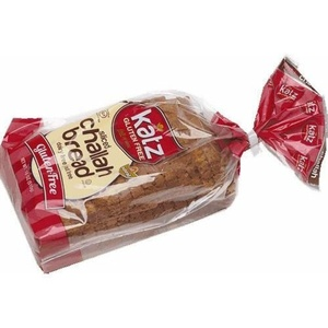 Katz Gluten Free Sliced Challah Bread, 18 Ounce -- 6 per case.