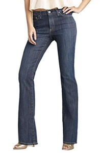 ADRIANO GOLDSCHMIED The Elite High Rise Boot Cut Jeans Sz 26 Medium Wash 170042TAG