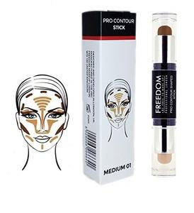 Freedom Makeup London Pro Contour Cream Shaped Stick 01 Medium by Freedom