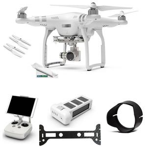 DJI Phantom 3 Advanced Quadcopter Drone with 2.7K HD Video Camera + (1) DJI Phantom 3 Intelligent Flight Battery + Expo-Elements Accessory Bundle
