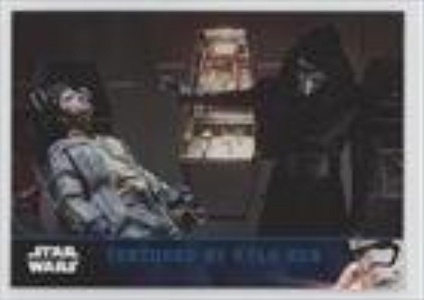 Tortured by Kylo Ren (Trading Card) 2016 Topps Star Wars: The Force Awakens Series 2 Lightsaber Blue #14