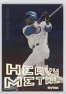 Sammy Sosa (Baseball Card) 2000 Skybox Metal - Heavy Metal #1 HM