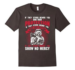 Men's Show No Mercy T-Shirt XL Asphalt