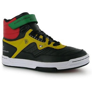 Mens Travel Fox Troop Trainers Shoes Black (UK 9.5 / US 10.5)