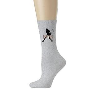 Gabriella Taylor Men's Crew Soccer Socks Ash One Size