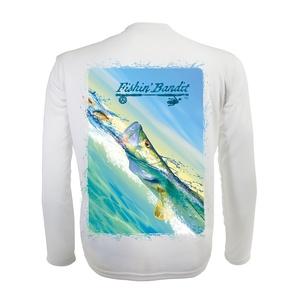 Flats Bandit Snook Fishing Shirt (3X)