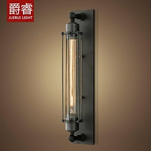 YPOSION Creative warehouse industrial wall lights American country before the mirror lamp retro iron WC Wall lights