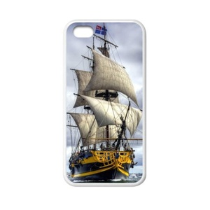 super shining day Nautical Sailing Boat Ocean TPU Material Phone Back Case Compatible with iPhone 5C