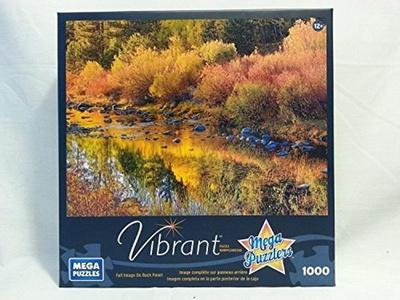 Mega Puzzles Little Truckee River in Autumn 1000 Piece Puzzle by Mega Puzzles Vibrant