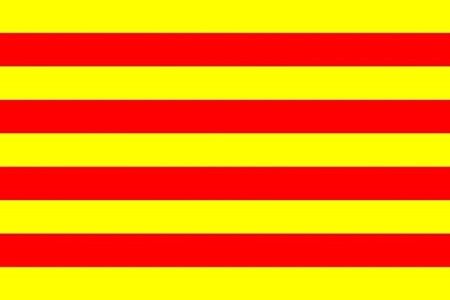 Catalonia 3' X 2' 3ft x 2ft Flag With Eyelets Premium Quality by 3Ft x 2Ft Flag