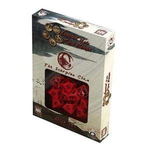 Legend of the Five Rings: AEG L5R Dice Set - Scorpion Clan (10) by Legend of the Five Rings