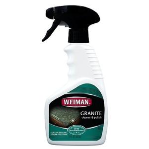 4 pack Weiman Granite Cleaner & Polish 12 fl oz (355 ml)