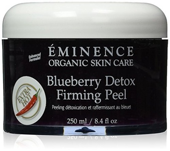 Eminence Blueberry Detox Firming Peel, 8.4 Ounce by Eminence Organic Skin Care