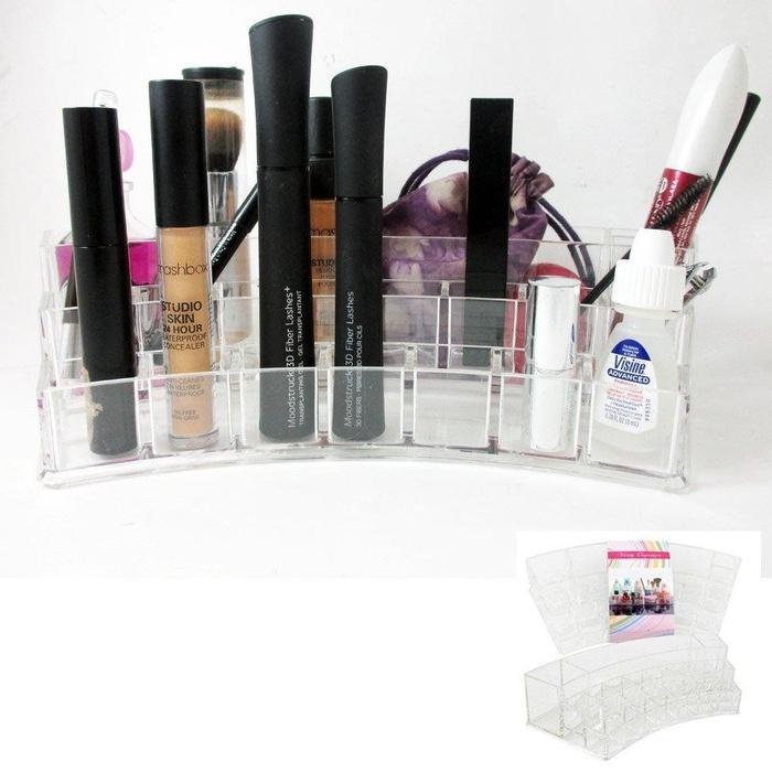 Makeup vanity organizer