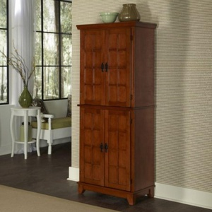 Home Styles Arts and Crafts Pantry, Cottage Oak, 30