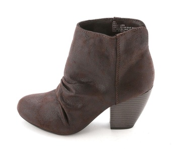 Sugar Women's Tula Short Heeled Booties, Brown, Size 10.0