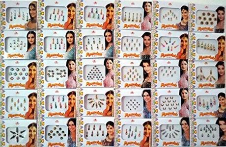 12 Different Packets of India Traditional Bindi Tika Tattoo by 12 Different Packets of India Traditional Bindi Tika Tattoo