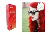 Berina (A23) Permanent Hair Color Dye Bright Red Color : 1 Box by Hair Color Dye