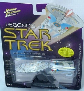Legends of Star Trek Future Enterprise NCC-1701-D Series 3 by Uncharted Territories