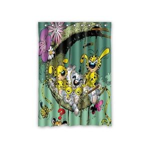 Cartoon Cartoon Marsupilami Blackout Room Darkening Curtains Window Panel Drapes,52 Inch x 72 Inch
