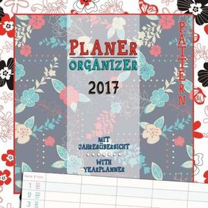 Planner Patterns 2017 Wall Calendar