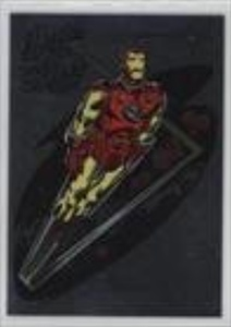 Iron Man (Trading Card) 1998 Skybox Marvel: Silver Age - Heroes of the Silver Age #9S