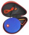 FitSand (TM) Portable Travel Carry Zipper Protective EVA Hard Case Cover Bag Box for JBL Clip 2 Waterproof Portable Bluetooth Speaker