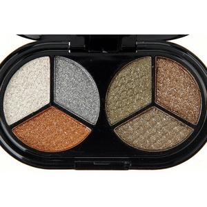 Shouhengda Glitter Eyeshadow Nude Eyeshadow Palette Makeup Matte Eye Shadow A05