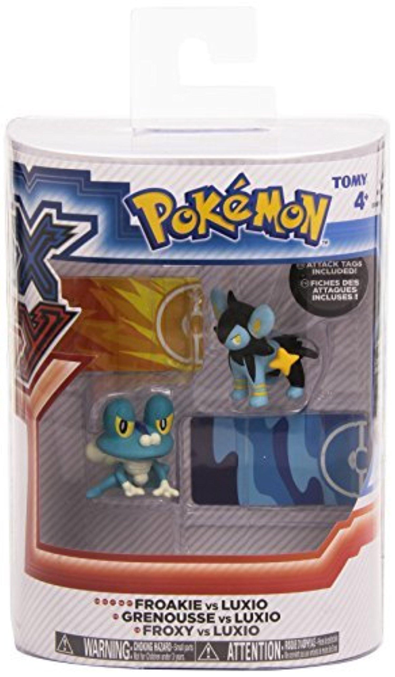 Tomy International Pokemon X & Y: Pikachu vs Flareon Action Figure (2 Pack) by Tomy International