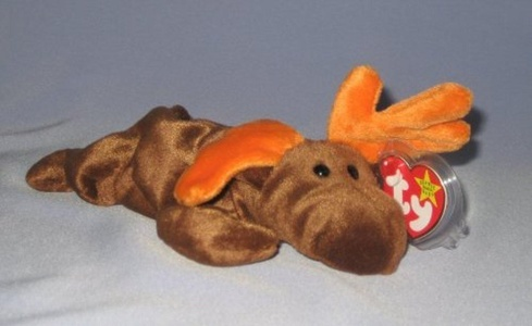 Ty Beanie Babies Chocolate the Moose by Chocolate