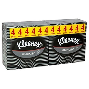 Kleenex for Men Compact Tissues (50 per pack x 4) by Kleenex