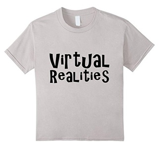 Kids Virtual Realities Shirt VR T Shirt 10 Silver