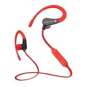 Tiean Mini Bluetooth Headphones, In-Ear Earbuds Wireless Earphones with Super Bass (Built-in Microphone, Bluetooth 4.1 with aptX) [Upgraded Version] (Red)