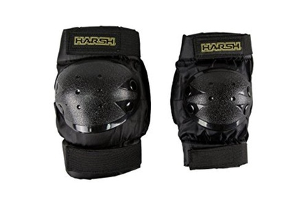 Harsh Kids Knee & Elbow Combo Protection (LARGE) by Harsh Protective Gear