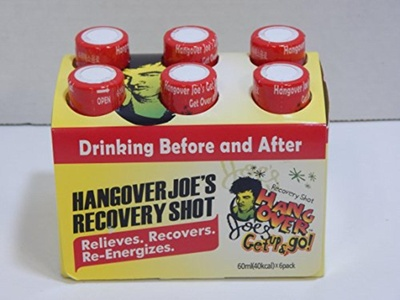 24 pack Hangover Joe's Recovery Shot