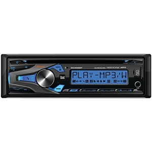 DUAL DC206BT Single-DIN In-Dash CD AM/FM Receiver with Bluetooth