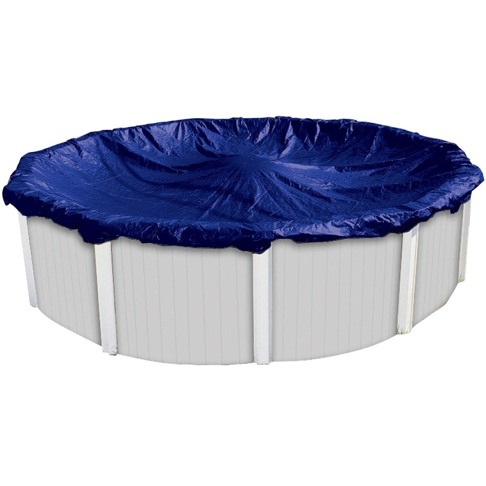 Online store harris economy winter cover for 28 39 above for Above ground pool winter cover ideas